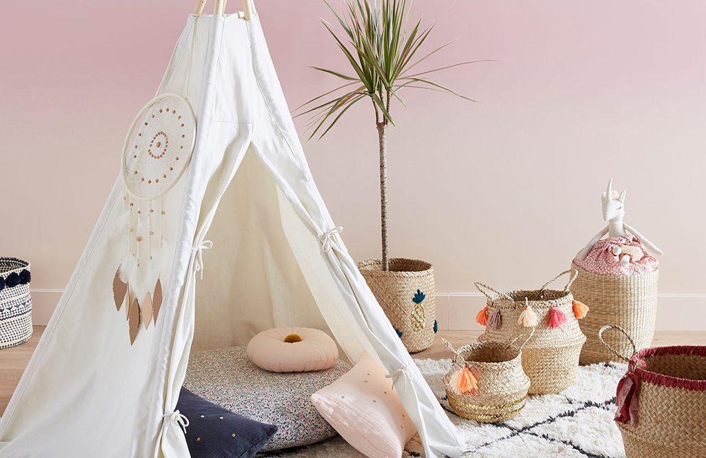 Tente enfant : un moyen pour divertir et développer l'imagination des petits