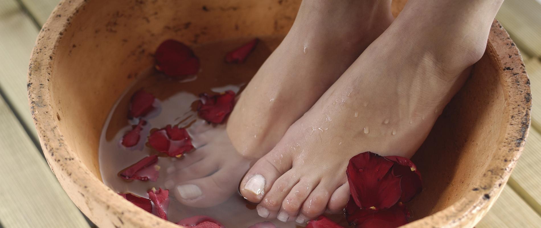 Bain de pied - image